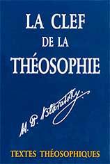 Photo de La Clef de la Théosophie par H.P.Blavatsky