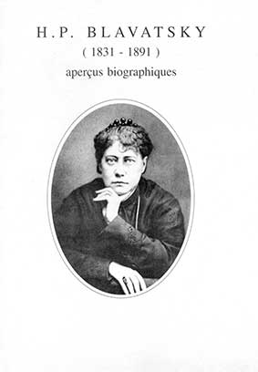 Photo Aperçus biographiques de H.P. Blavatsky