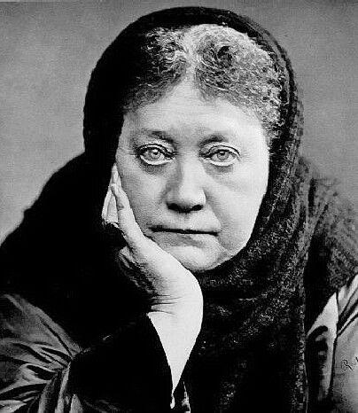 Portrait de Helena Petrovna Blavatsky