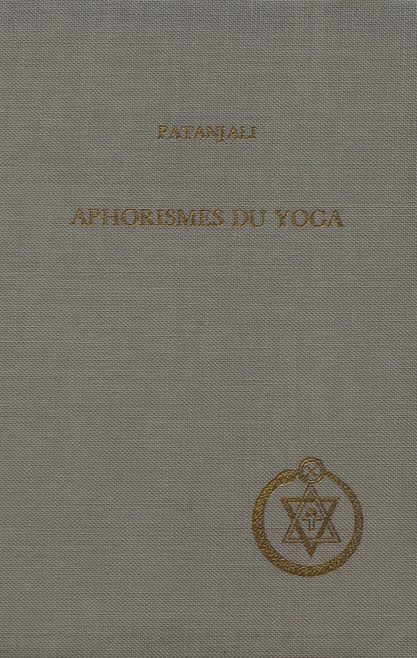 Photo des Aphorismes du Yoga de Patanjali