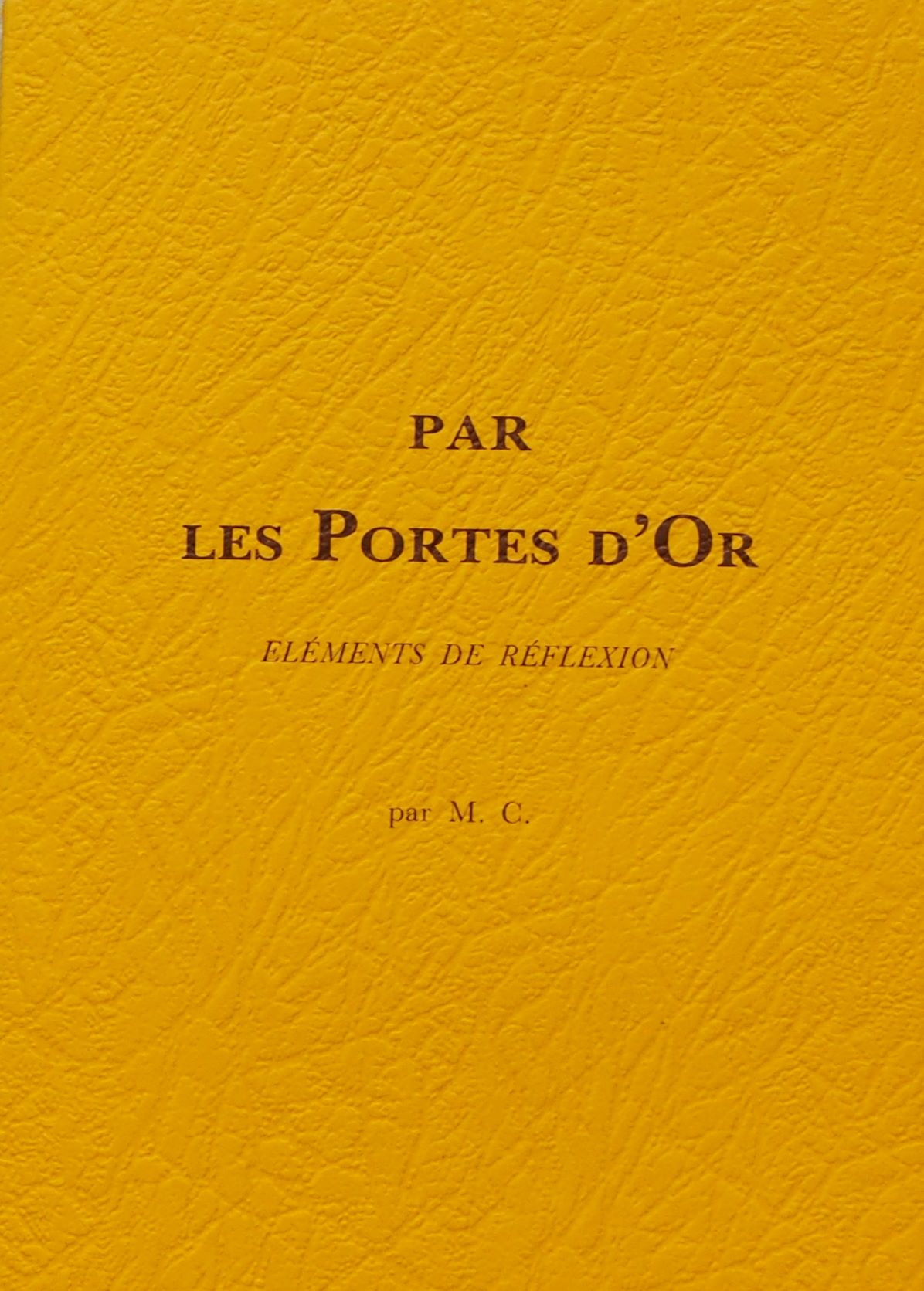 Photo de Par les Portes d'Or