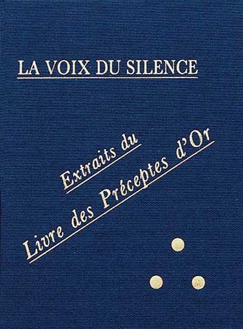 Photo de La Voix du Silence par H.P.Blavatsky